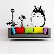 Wall Stickers My Neighbor Totoro Movie Posters Removable Wall Decal Bedroom Living Room Decor Cartoon Wall Sticker Wall Murals And Decals Wall Murals And Stickers From Totwo2 7 2 Dhgate Com