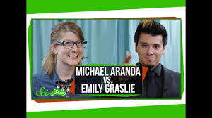 Quiz Show: Michael Aranda vs. Emily Graslie - YouTube