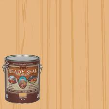 Ready Seal Pre Tinted Golden Pine Semi Transparent Exterior Stain And Sealer Gallon In The Exterior Stains Department At Lowes Com