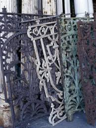 love old cast iron gates and fences