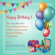happy birthday greeting card 2019