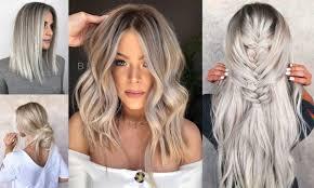 Modne Kolory Wlosow 2020 Popielaty Blond W Roznorodnych Odcieniach