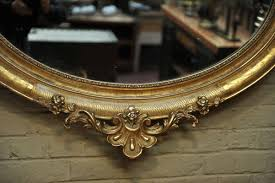 antique louis xv style mirror for