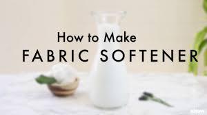 how to make liquid fabric softener