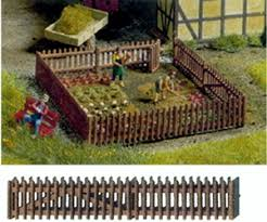 Ho Scale Garden Fence Scenic Express