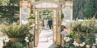 33 best outdoor garden wedding venues