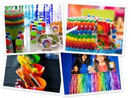 Fiesta Arcoiris Con Ideas Llenas De Colores Y Diversion