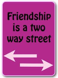 friendship works both ways friendship words meaningful