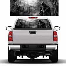 Rear Window Graphic Decals Grim Reaper Black Forest Stickers For Truck Suv Buy At A Low Prices On Joom E Commerce Platform