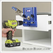 how to use a kreg cabinet hardware jig