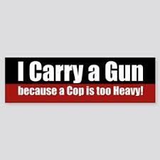 Gun Owner Bumper Stickers Cafepress