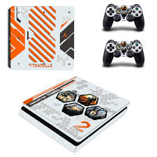 Titanfall 2 Decal Ps4 Slim Skin Sticker For Sony Playstation 4 Console And 2 Controllers Ps4 Slim Skin Sticker Vinyl Stickers For Stickers For Sonysticker Vinyl Aliexpress
