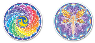 Mandala Arts Window Stickers By Bryon Allen Spiritual And Ecological Themes And Messages Of Peace