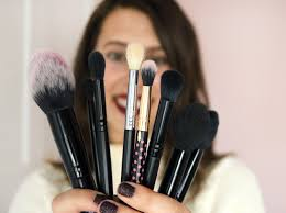 my favourite makeup brushes mostly