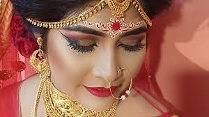 hd bridal makeup bengali bride
