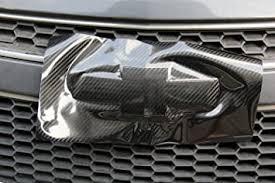 Amazon Com Front Rear 5d High Glossy Black Carbon Fiber Sticker Bowtie Logo Wrap Kit Vinyl Decal Emblem For Chevrolet Chevy Volt Malibu Camaro Spark Sonic Impala Corvette Trax Equinox Automotive