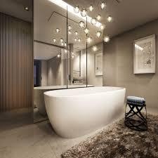 pendant lights in stunning bathrooms