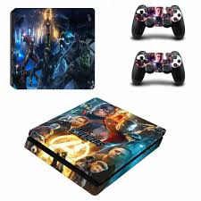 2020 Avengers Endgame Captain America Ps4 Slim Skin Sticker Decal For Playstation 4 Console And 2 Controller Skin Ps4 Slim Sticker From Qianandhgate 27 5 Dhgate Com