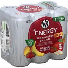 v8 vegetable juice energy vegetable