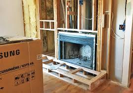 convert wood burning fireplace to gas