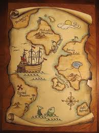 Giant Treasure Map Wall Decoration Mural Google Search Pirate Treasure Maps Pirate Maps Treasure Maps