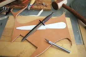 how to make a knife sheath step by