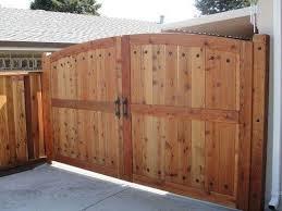 Custom Steel Frame Double Gate Wooden Gates House Gate Design Gate Design