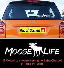 Home Decor Moose Family Sticker K930 8 Inch Decal Unitransbahia Com Br
