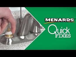 leaky faucet quick fi menards