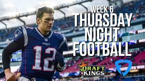 NFL WEEK 6 THURSDAY NIGHT FOOTBALL ...