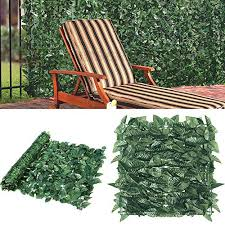 Goasis Lawn Artificial Hedge Fence Panel Buy Online In Luxembourg At Desertcart
