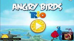 ANGRY BIRDS: RIO - Angry Birds Rio Game - Golden Fruit Banana ...
