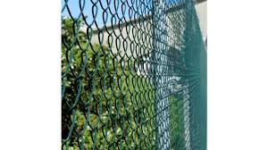 Bayonet Chain Link Fence Netting Pvc Coated By Paul Industries Eboss