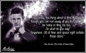 eleventh doctor quote space and time doctor who by mrarinn on