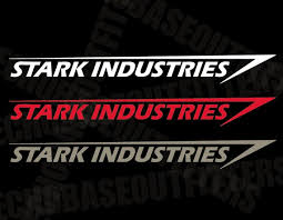 Stark Industries Large Vinyl Decal Etsy
