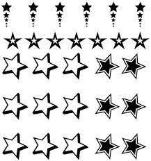 Amazon Com Sheet Of Star Decals Vinyl Wall Stars Stickers Decor 20 X22 Y16 Home Kitchen