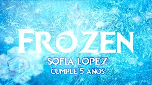 Tarjetas Invitacion Cumpleanos Frozen Animada En Video Youtube