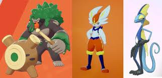 Voici les 3 évolutions finales des starters de Pokémon Épée / Bouclier ! -  Wiki-Dragon Actualités brûlantes sur pokemon et Wiki
