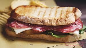 italian panini sandwich foreman grill