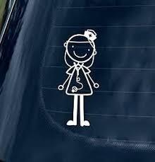 Nurse Figure Custom Decal Sticker Opciones De Vida Enfermera Enfermeria