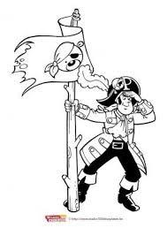 Kleurplaat 8 Piet Piraat Kleurplaten Piraten Disney