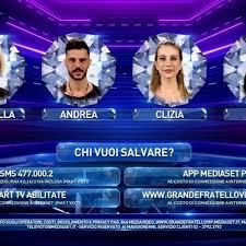 GF Vip, Pago eliminato. In nomination: Antonella Elia, Andrea ...