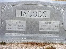Eddie Myrtle Jacobs (Teasley) (1912 - 1974) - Genealogy