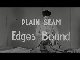 Sewing Simple Seams - vintage 1940s sewing video - YouTube