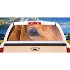 Horses 3 Rear Window Graphic Decal Tint Truck Horse View Thru Vinyl Walmart Com Walmart Com