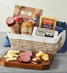meat and cheese gift basket harry david