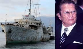 Vojnik sa Titovog broda otkrio šta je sve vidio na brodu Galeb ...