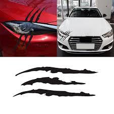1x Auto Car Sticker Reflective Monster Scratch Stripe Claw Marks Headlight Decal Car Stickers Aliexpress