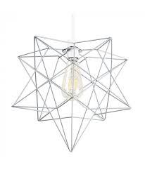 minisun sadira geometric wire star