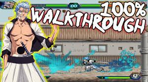 Bleach Vs Naruto 3.2 - Grimmjow Jaegerjaquez 100% Walkthrough ...